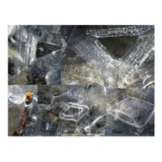 Ice Formations Postcard