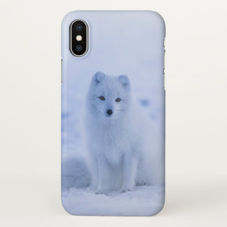 Ice Fox iphone Cover Nature Style