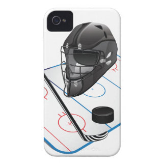 Ice Hockey barely there iPhone 4 Cases