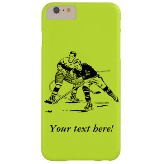 Ice hockey barely there iPhone 6 plus case