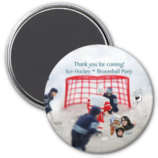Ice Hockey & Broomball Magnet