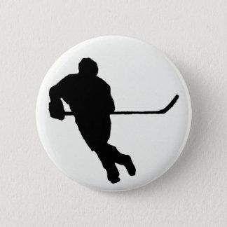 Ice Hockey Button