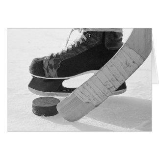 Ice Hockey Greeting Cards