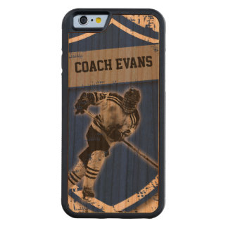 Ice Hockey Carved Cherry iPhone 6 Bumper Case