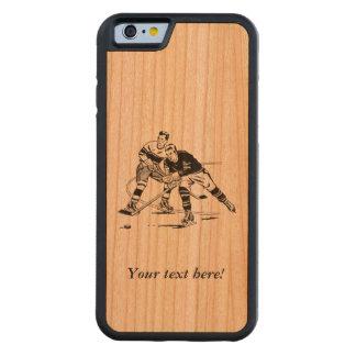 Ice hockey cherry iPhone 6 bumper