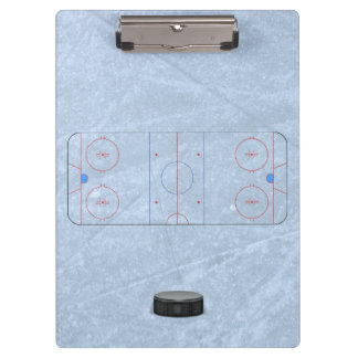 Ice Hockey Coach Clipboard