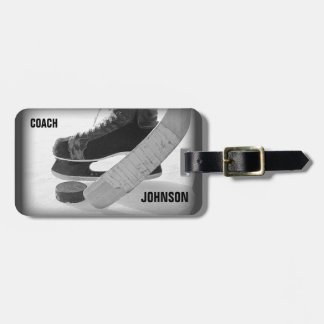Ice Hockey Coach Thank You Luggage Tag