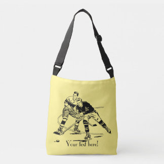Ice hockey crossbody bag