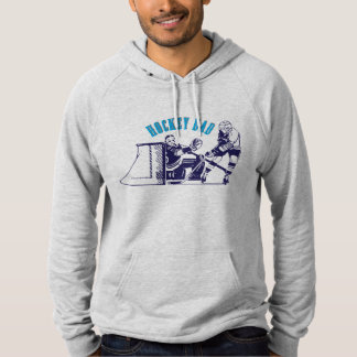 Ice Hockey Dad Skating Hoodie