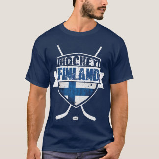 Ice Hockey Finland Shield Suomi Tee