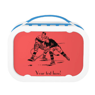Ice hockey lunch box