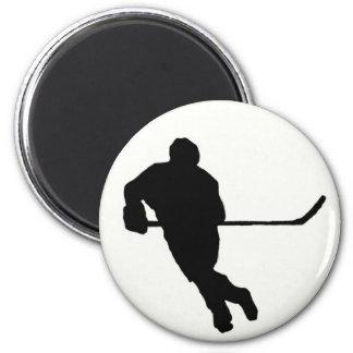 Ice Hockey Magnet