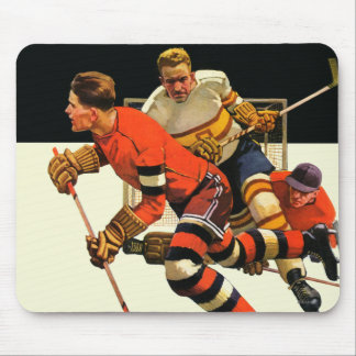 Ice Hockey Match Mouse Pad