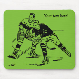 Ice hockey mouse pad