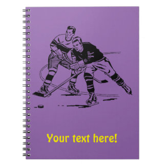 Ice hockey notebook
