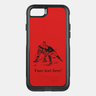 Ice hockey OtterBox commuter iPhone 8/7 case