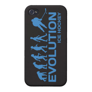 Ice Hockey player Evolution funny iPhone 4 4s case iPhone 4/4S Case