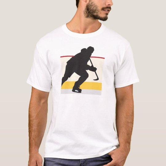ice hockey player on the move T-Shirt
