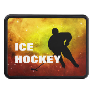 Ice Hockey Player - Trailer Hitch Cover