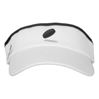 Ice Hockey Puck Graphic Visor
