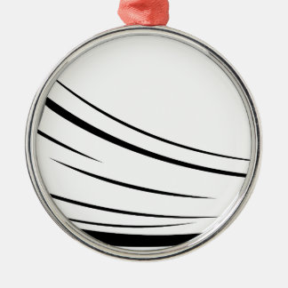 Ice Hockey Pucks 2 Silver-Colored Round Ornament