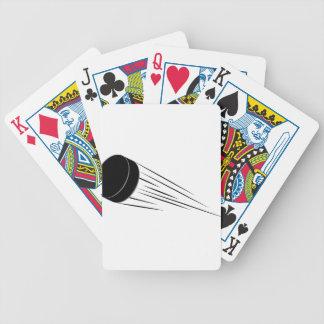 Ice Hockey Pucks Bicycle Playing Cards