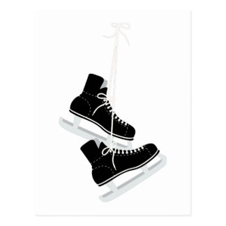 Ice Hockey Skates Postcard