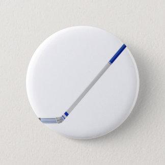 Ice hockey stick 2 inch round button