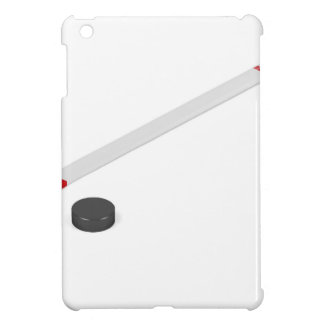 Ice hockey stick and puck cover for the iPad mini