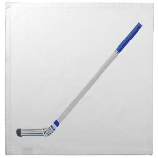 Ice hockey stick napkin
