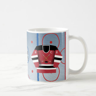 Ice Hockey Team Jersey Mug