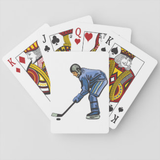 Ice Hockey Time Playing Cards