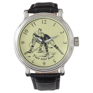 Ice hockey watch