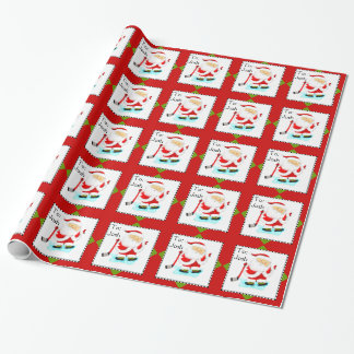 Ice Hockey Wrapping Paper