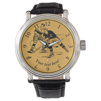 Ice hockey wrist watches