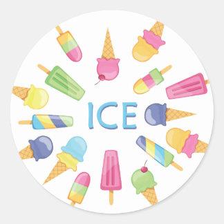 Ice Ice sticker