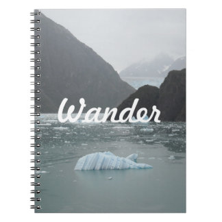 Ice in Tracy Arm Fjord Notebook