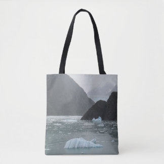 Ice in Tracy Arm Fjord Tote Bag