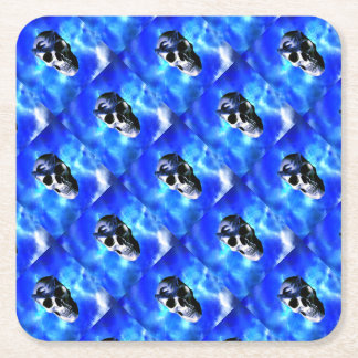 Ice King Square Paper Coaster