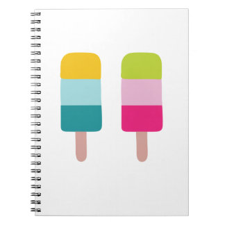 Ice lolly dream notebook