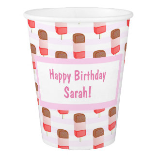 Ice Lolly Pattern - Paper Cup
