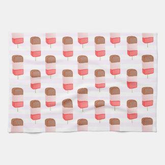Ice Lolly Pattern - Tea Towel
