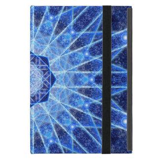 Ice Lotus Mandala iPad Mini Cases