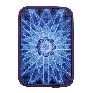 Ice Lotus Mandala iPad Mini Sleeves