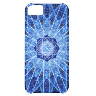 Ice Lotus Mandala iPhone 5C Cases