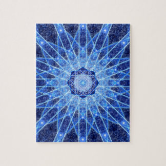 Ice Lotus Mandala Puzzles