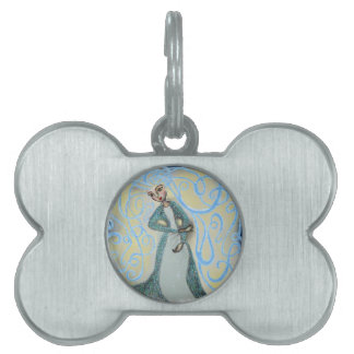 Ice Maiden Pet ID Tag