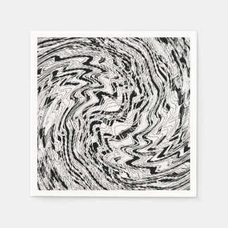 Ice Moon Agate Paper Napkins
