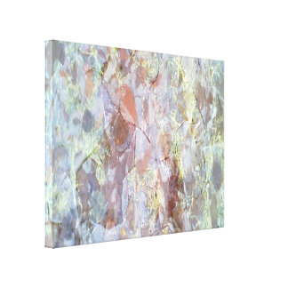 Ice on the ground gallery wrap canvas