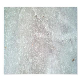 Ice on the ground photo
